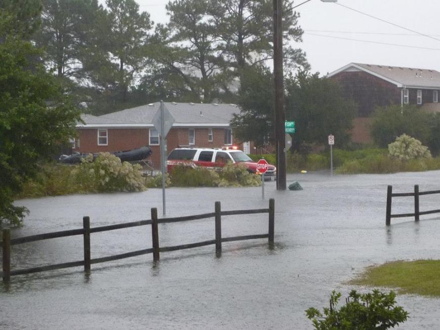 Photo Credit:  Friends of Lynnhaven Colony in Facebook. Starfish & Cape Henry. Photo taken ~1130 Monday during Super Storm Sandy Oct 2012.