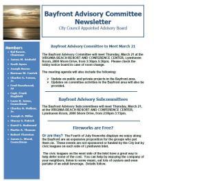 BAC Newsletter