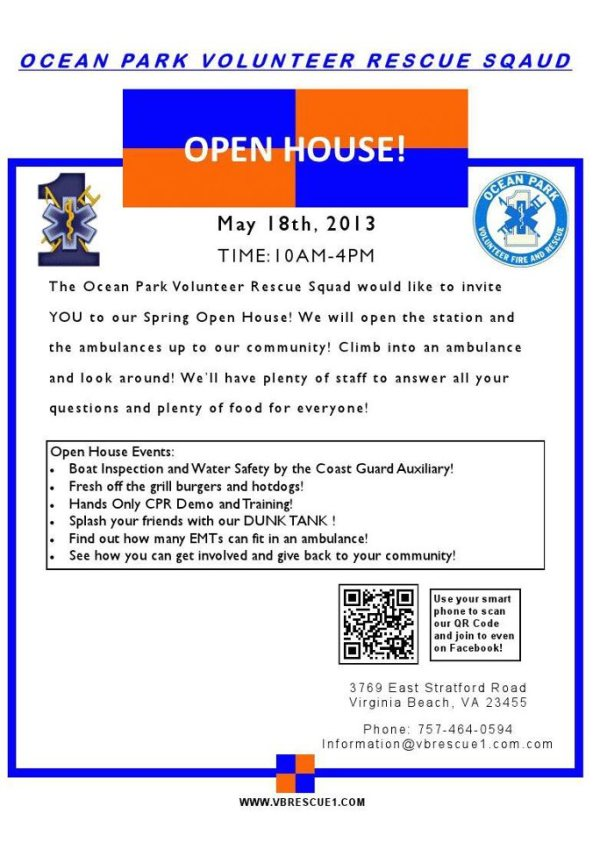 OPVRS OPEN HOUSE