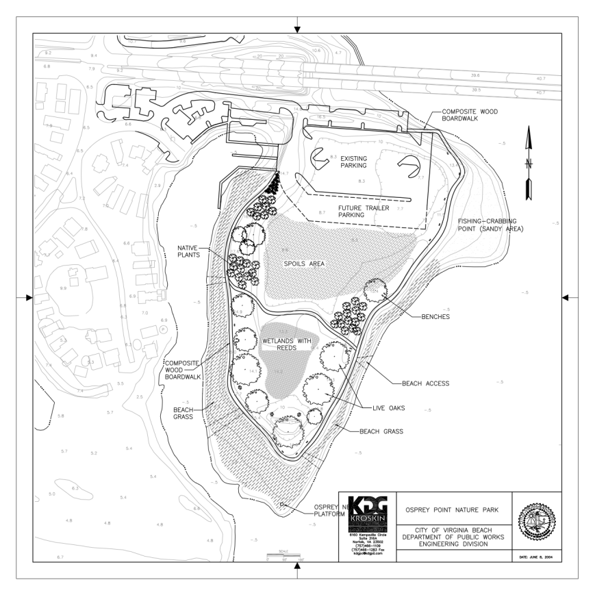 Plans for Osprey Point Nature Park