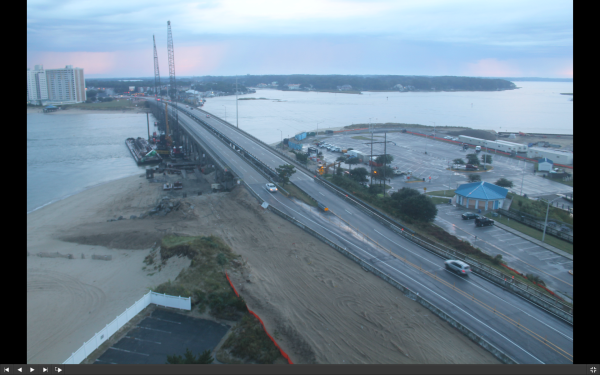 screen shot of Construction Cam from today at 730a
