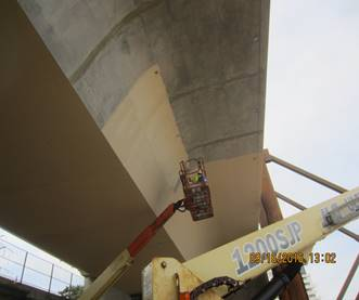 Coating of the Bridge Superstructure
