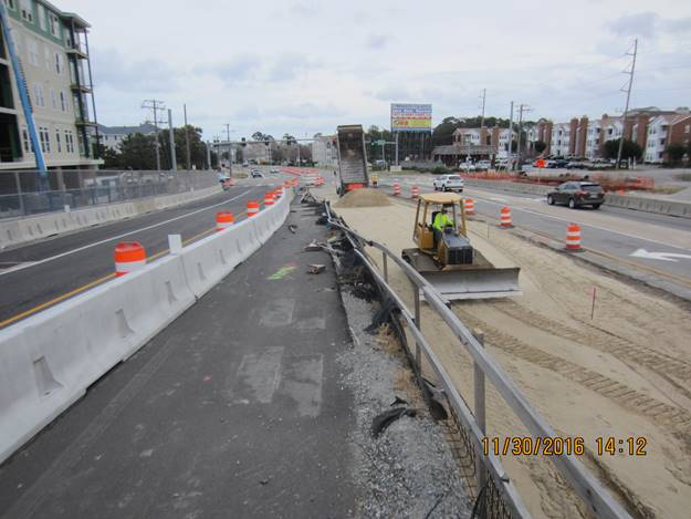 Phase 4 Pavement Widening on the East Side of the New Lesner Bridge