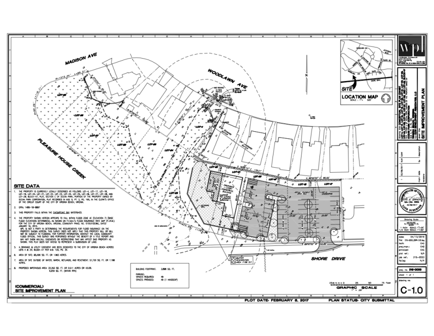 new drawings  link to joint permit application